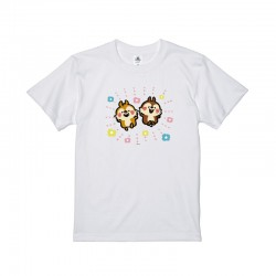 [童裝/男/女裝] 迪士尼 x Kanahei 畫風大圖棉質TEE (花花大鼻鋼牙) (三色選)