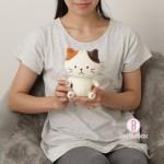 日本Fuku貓咪經典坐姿版公仔(共六款)