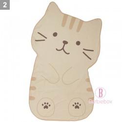 日本Fuku貓咪裝可愛造型涼感被子(茶茶)