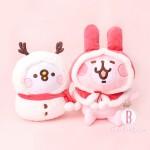 [聖誕限定]P助兔兔聖誕雪人造型版(L)
