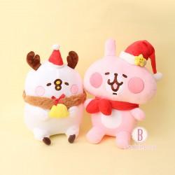 [聖誕限定]P助兔兔聖誕帽裝扮公仔(L)