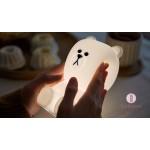 LINE熊大造型觸控LED燈