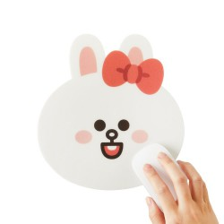 LINE BB版小朋友系列大頭滑鼠墊 (兔兔)