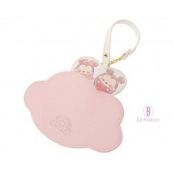 Ufufy雲朵柔和粉色系卡片掛飾(米奇米妮)