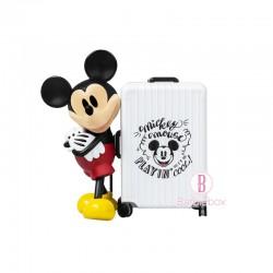 [台灣限定]米奇經典擺post公仔 x 行李箱造型真無線藍牙耳機