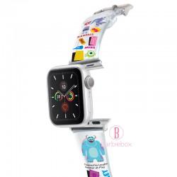 Disney Apple Watch透明PVC錶帶連保護殻(怪獸公司)