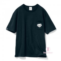 迪士尼[男女通用]個性口袋角色純棉TEE (101斑點狗黑色)