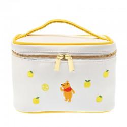 小熊維尼柚子刺繡日式化妝箱