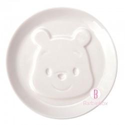 迪士尼陶瓷餐桌系列立體醬油碟(維尼)