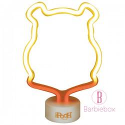 迪士尼LED霓虹光夜燈(維尼)