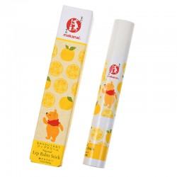 小熊維尼x日本化妝品牌Makanai 柚子蜂蜜潤唇膏