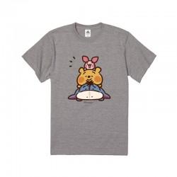 [童裝/男/女裝] 迪士尼 x Kanahei 畫風大圖棉質TEE (維尼賴在一起) (兩色選)