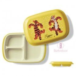[日本製]維尼系列耐冷耐熱食物盤子盒(跳跳虎)