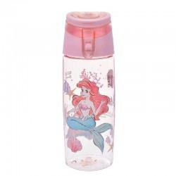 迪士尼透明夏日手挽水瓶子(小魚仙)