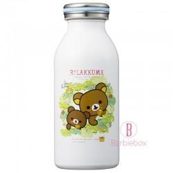 鬆弛熊茶色小熊花園系不銹鋼真空牛奶保溫瓶