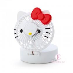 Sanrio夏日2Way掛頸/坐枱可愛盒子型風扇(Hello Kitty)