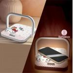 Sanrio 二合一LED小夜燈快速無線充電板(Hello Kitty)