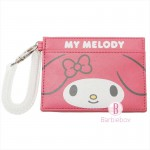 Sanrio皮革款大臉系卡片套(Melody)