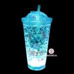 迪士尼LED發光滑推水冰杯(史迪仔)