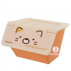角落生物日本揭式桌上收納箱(貓咪)