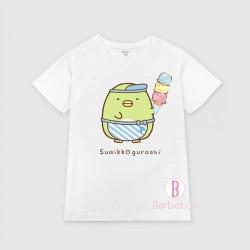 清涼感系[台灣製]角落生物雪糕主題童裝Tee(企鵝?)