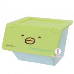 角落生物日本揭式桌上收納箱(企鵝?)