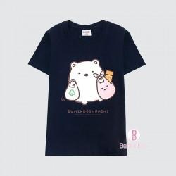 [台灣製]角落生物購物系列童裝獨立角色Tee(白熊)