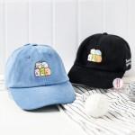 角落生物親子款刺繡帽子(兩色選)