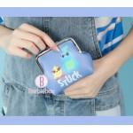 Toystory4系列可愛日常卡片/散子收納包(Ducky&Bunny)