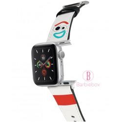 迪士尼Apple Watch十字紋牛皮錶帶(小叉)