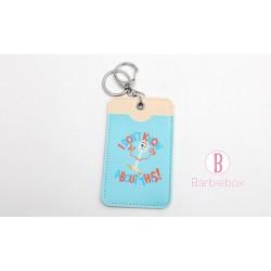 Toystory4系列可愛日常卡片套(小叉)(粉藍色)