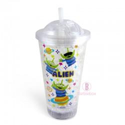 迪士尼LED發光滑推水冰杯(三眼仔Alien)